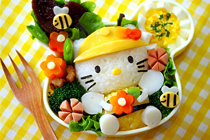 bento art kitty
