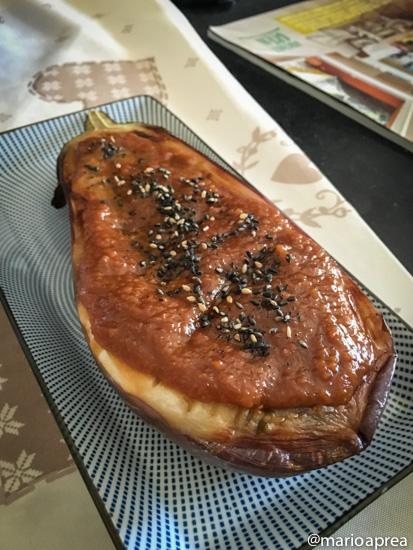Ricetta Nasu dengaku (melanzane al miso)