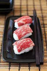 Beef sushi 2