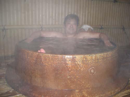 Vasche Da Bagno Water : Ofuro il rito del bagno giapponese alloggiare in giappone